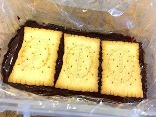 billede med samling af kiksekage