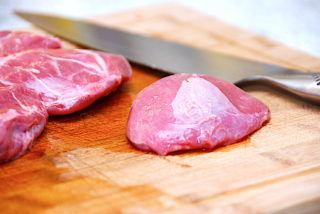 billederesultat for svinekæber på skærebræt