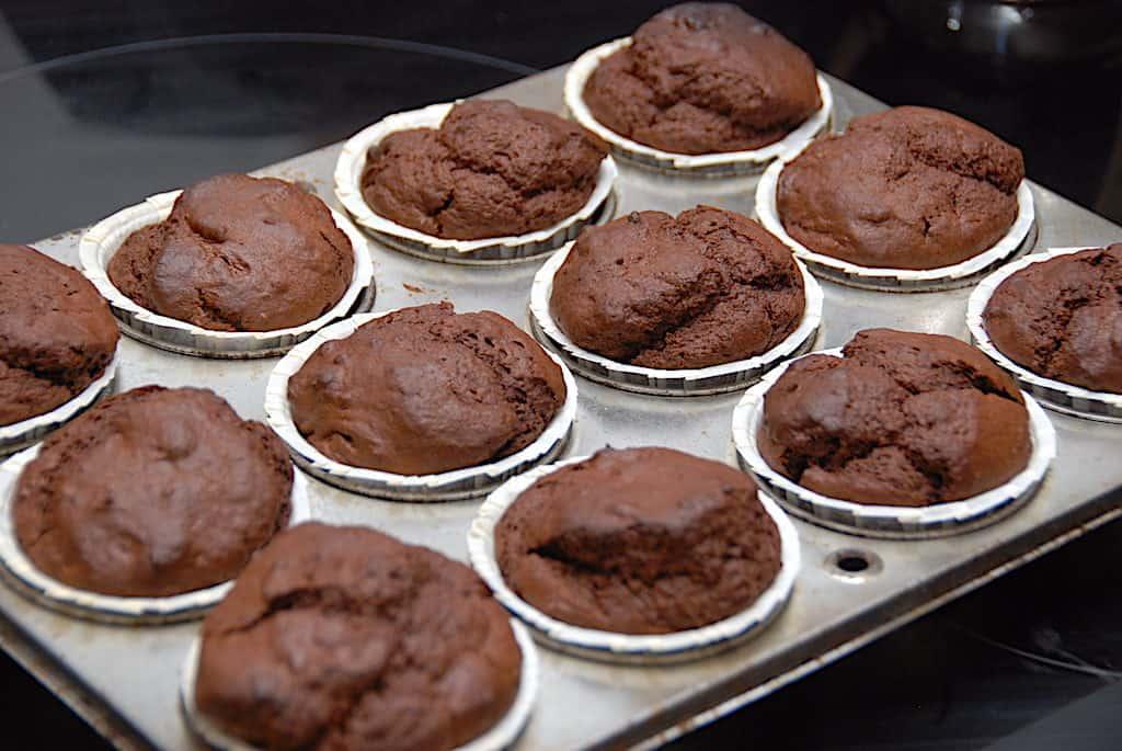 verdens bedste chokolademuffins