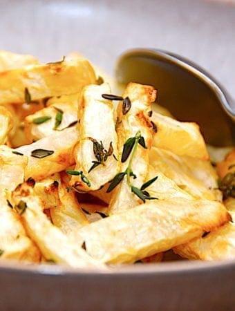 Sellerifritter – opskrift på pommes frites af knoldselleri