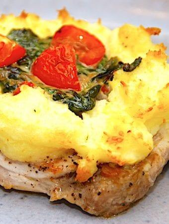 Kromandens kotelet i ovn med kartoffelmos