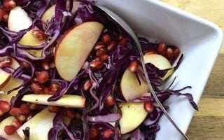 billederesultat for salat med rødkål