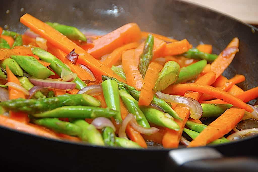 Opskrift på honningglaserede grøntsager