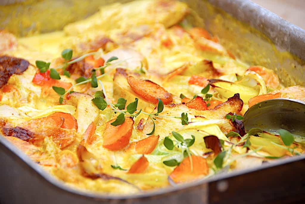 Indonesisk kylling opskrift i ovn på 20 minutter