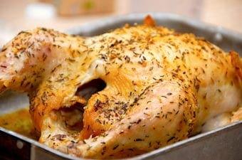 Nem opskrift på timiankylling i ovn
