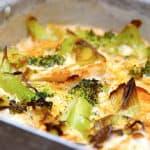 broccolifad med kylling
