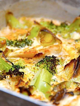 Broccolifad med kylling på 30 minutter
