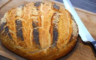 franskbrød i gryde