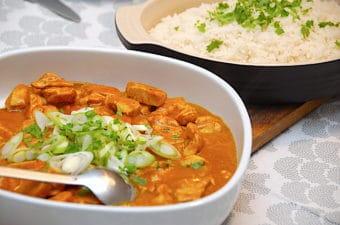 Kylling tikka masala (nem opskrift på 15 minutter)