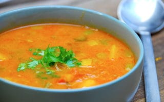 mulligatawny indisk suppe