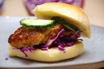 Bedste frikadellesandwich lavet helt fra bunden