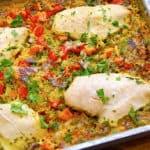 billederesultat for alt i et fad med kylling og ris