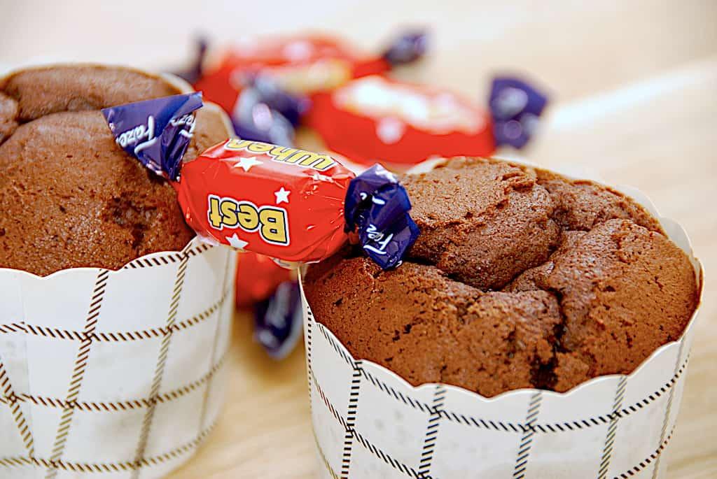 dumle muffins opskrift