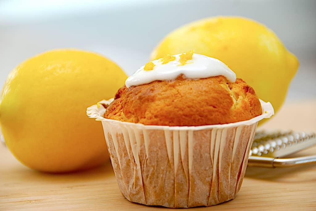 Citronmuffins - nemme cupcakes med citron!