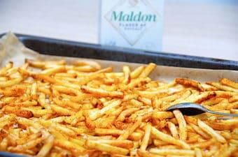 Tilberedning af frosne pommes frites i ovn (med gode tips)