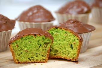 Verdens bedste giftkage muffins med pålægschokolade