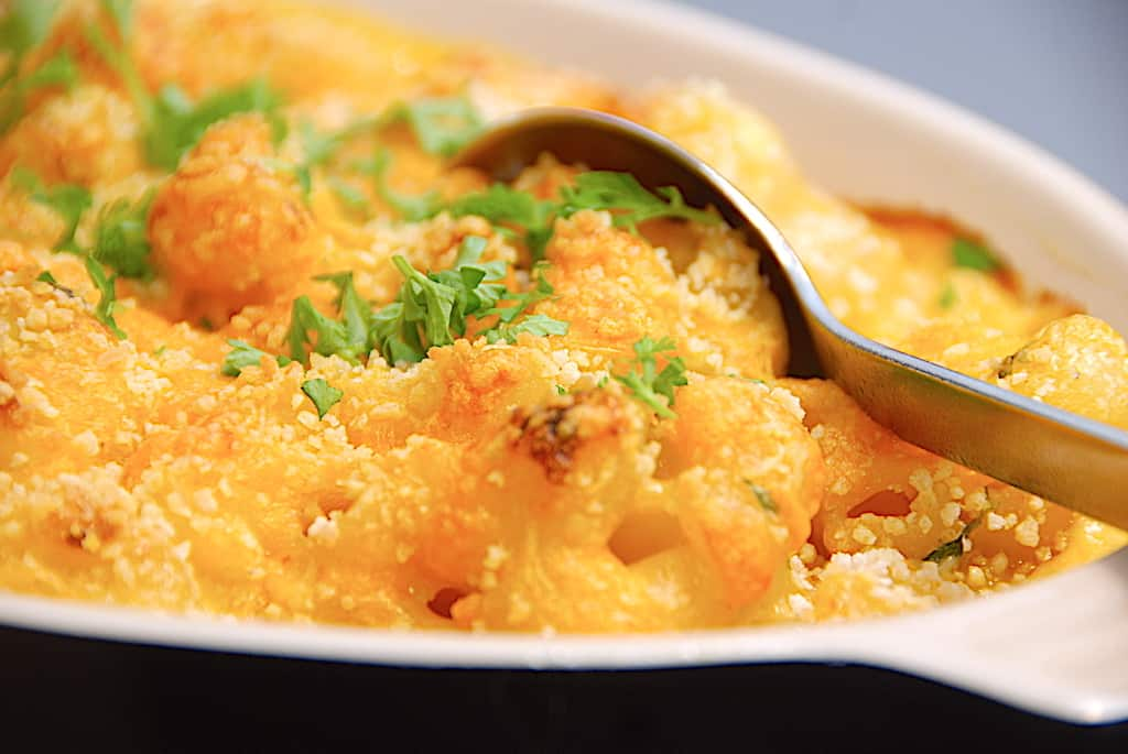 Mac and cheese opskrift - bagt macaroni med ost