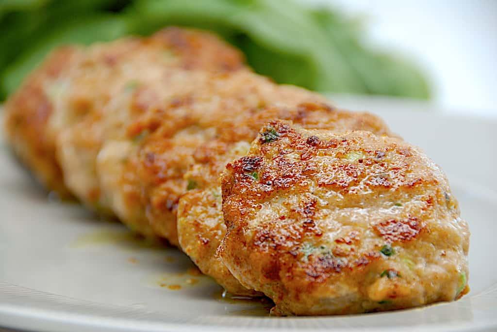 Kyllingebøffer - nem opskrift på bøffer af hakket kylling!