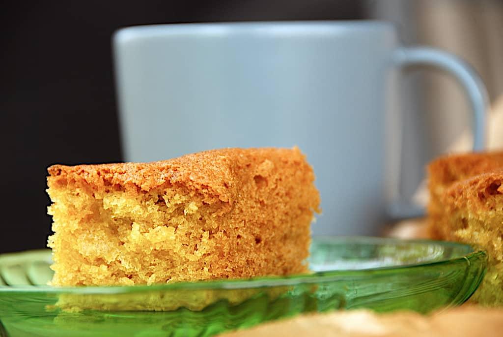Pund til pund kage - nem opskrift med citron