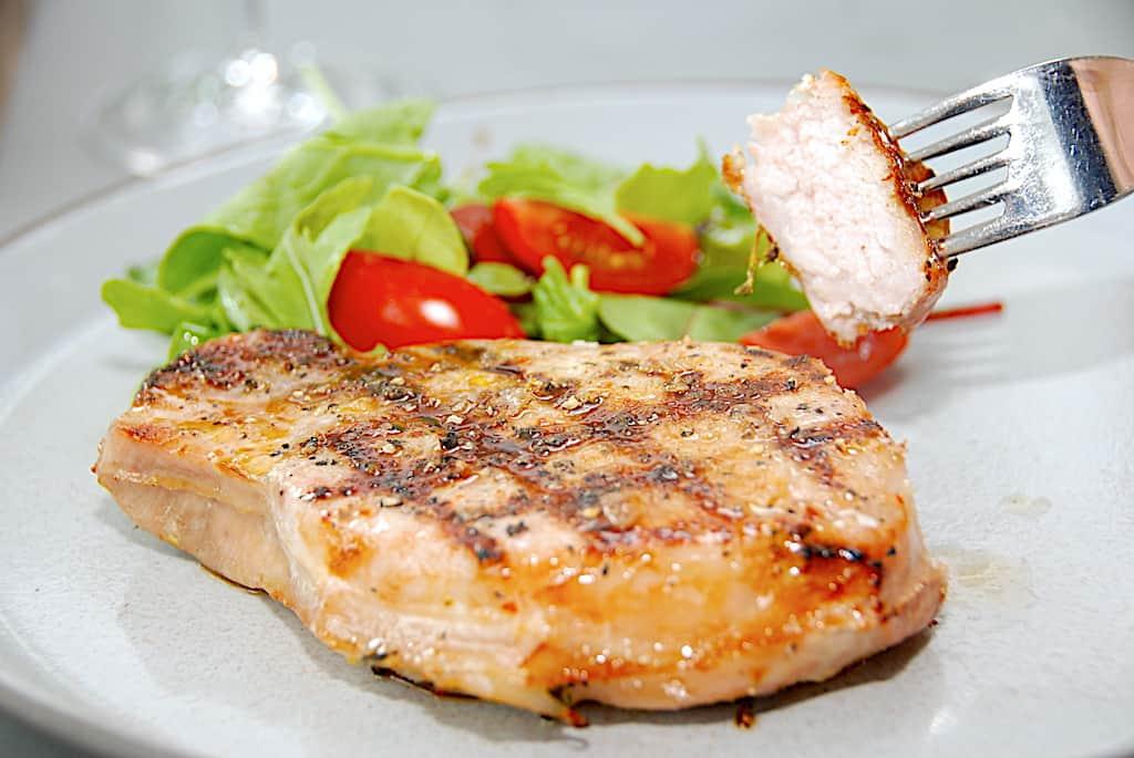 Koteletter sous vide med eller uden skaft og ben