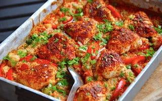 marokkansk kylling i fad