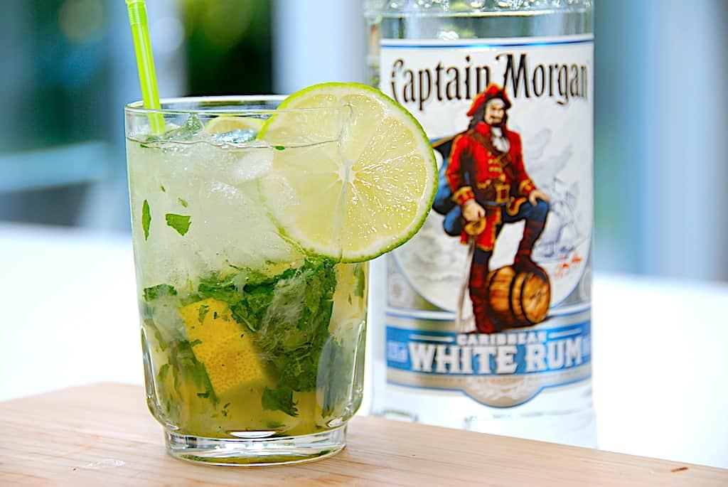 billede med mojito drink