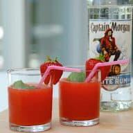 billede med strawberry daiquiri drink