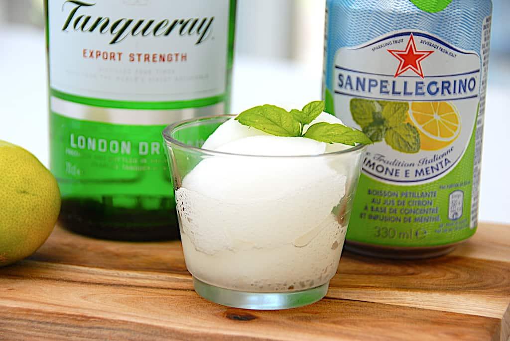 Gin & Tonic sorbet is