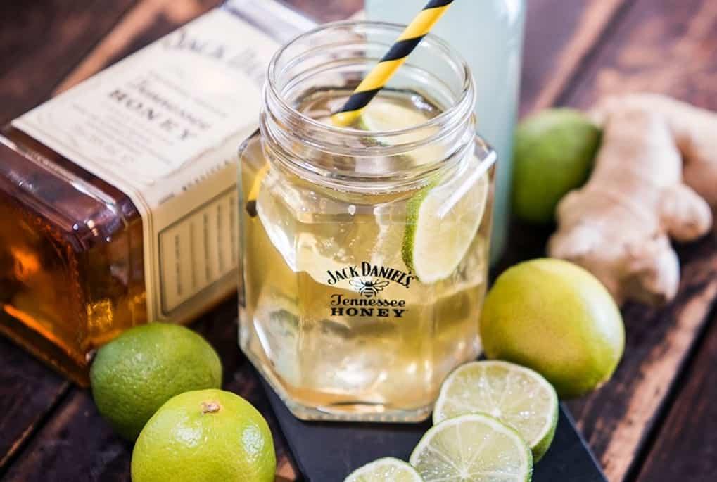 Ginger Bee med Jack Daniel's – bedste drink til grillen