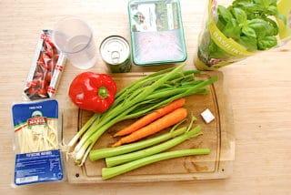 ingredienser til børnenes kødsovs
