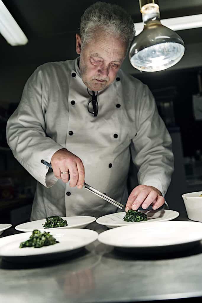Lars Kleist på Fanefjord Skovpavillon på Møn