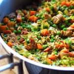 billederesultat for one pot mørbrad med ris