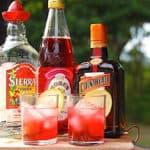billede med PInk Margarita drink
