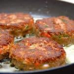 vegetarbøffer med kidneybønner
