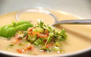 hvid bønnesuppe
