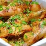 billederesultat for kyllingelår med spidskål og kartofler i ovn