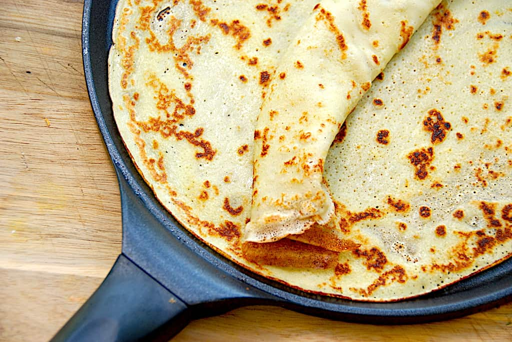 pandekager med kærnemælk kærnemælkspandekager