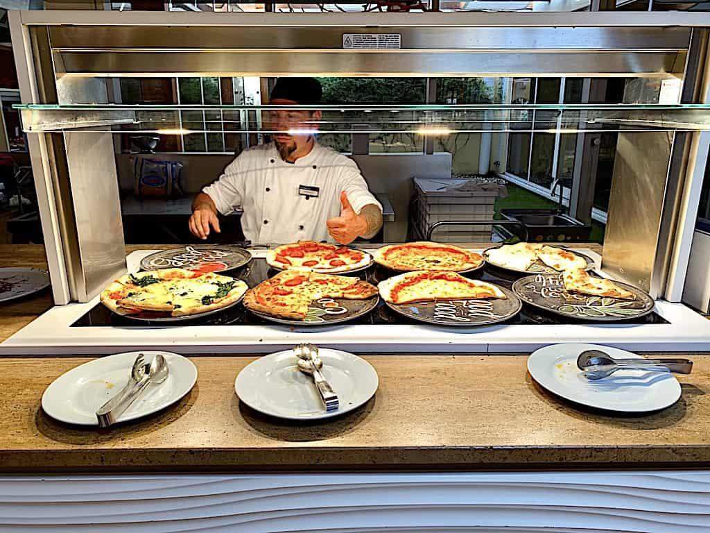 pizza som all-inclusive