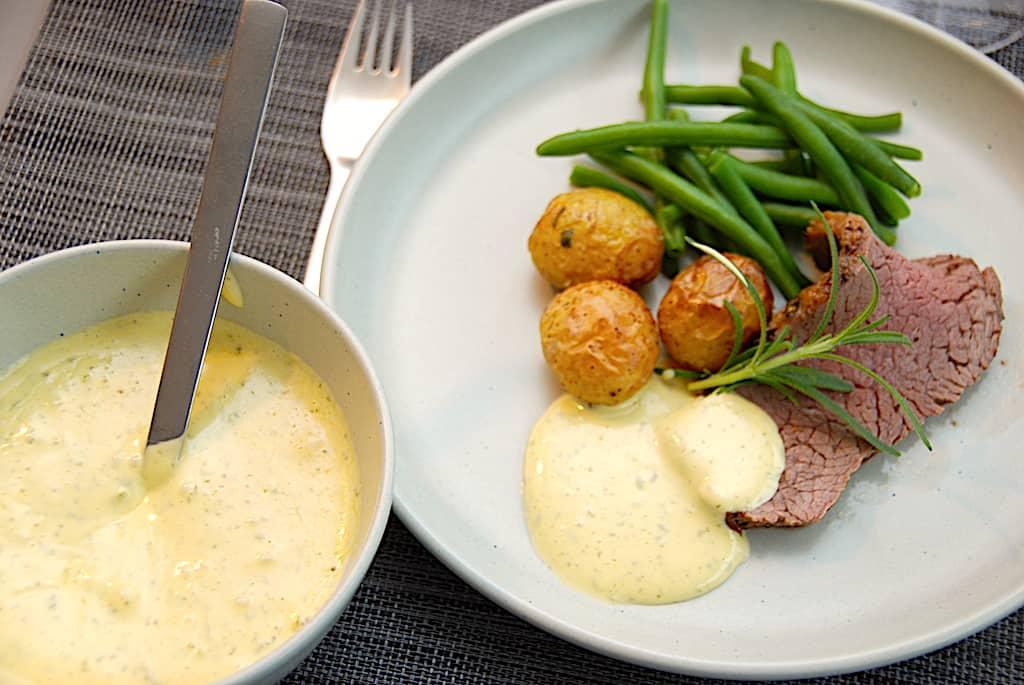 Sauce bearnaise sous vide - nem og sikker opskrift