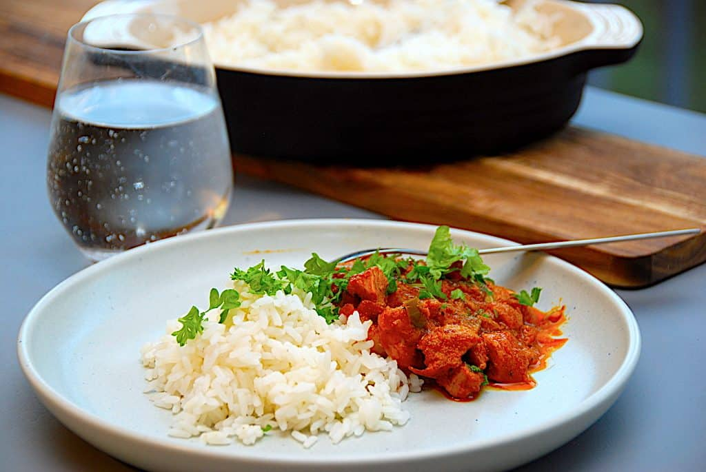 vikingegryde med ris