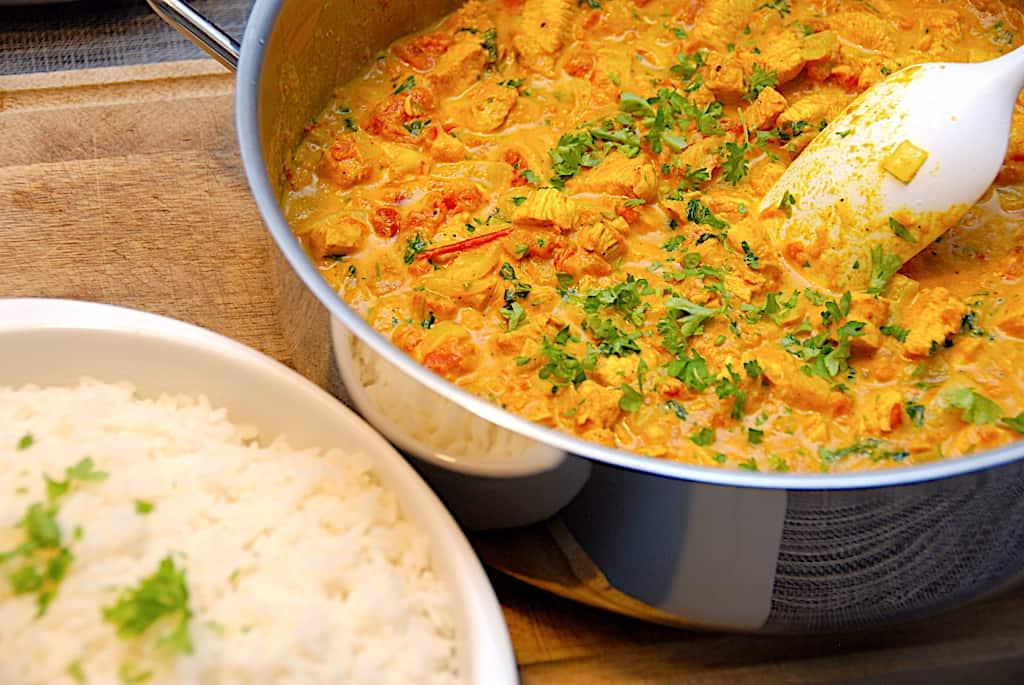 Butter chicken - nem opskrift på indisk murgh makhani