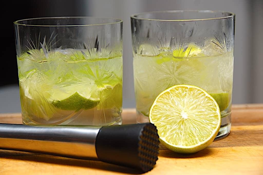 Caipirinha drink - opskrift på den brasilianske cocktail