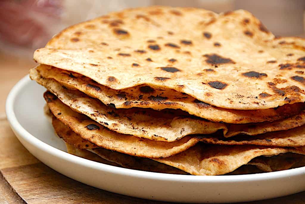 Chapati - nem opskrift på pandestegt brød fra Indien