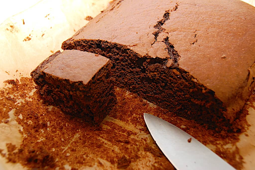 Klassens time kage - opskrift på en nem chokoladekage