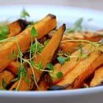 billederesultat for søde kartoffelfritter