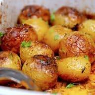 billede med græske kartofler