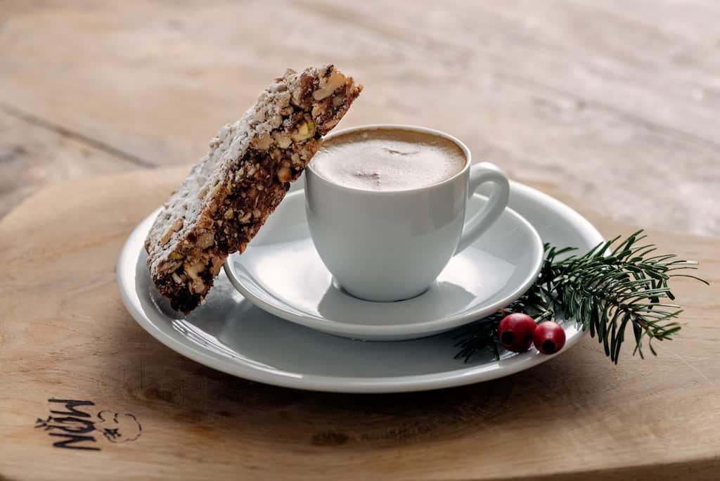 panforte og kaffe