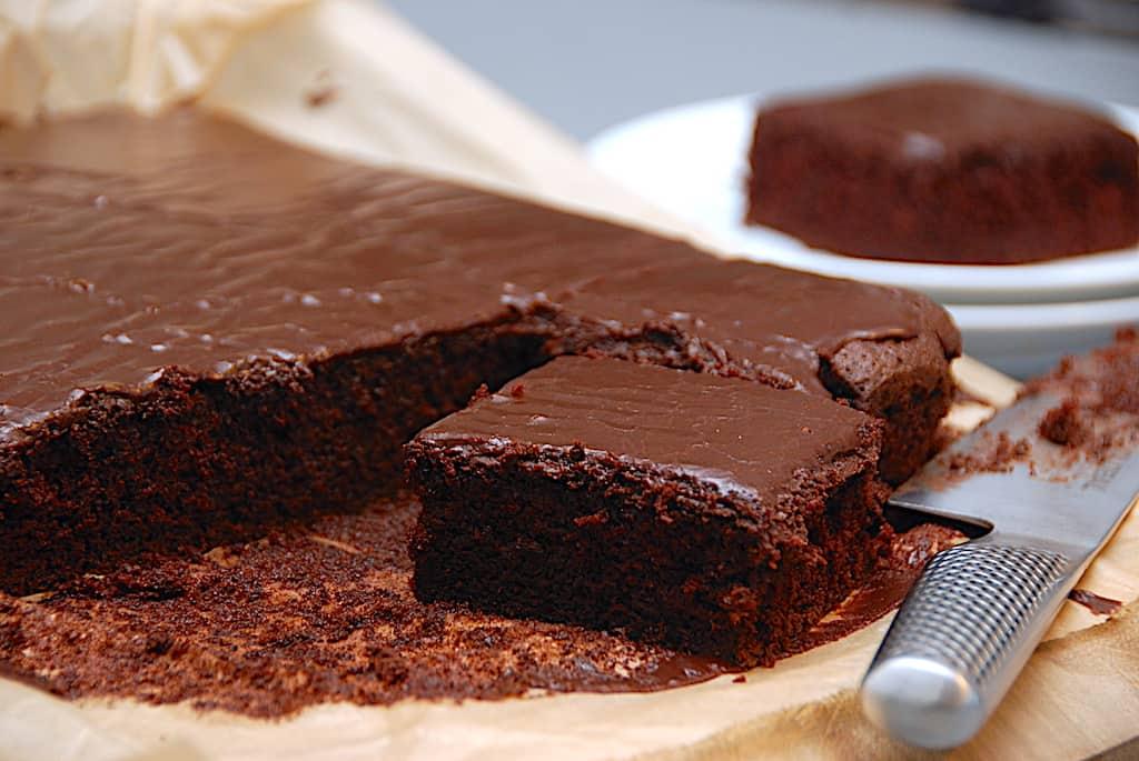 Alletiders mumse chokoladekage - nem opskrift
