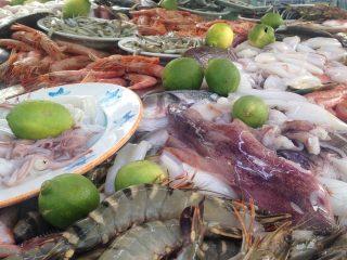 Bæredygtige fisk på marked