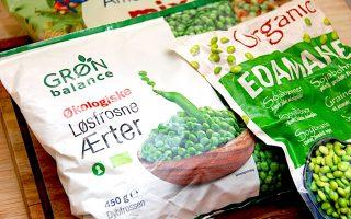 frosne grøntsager